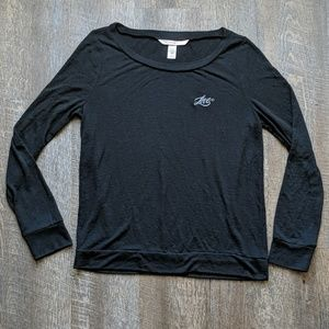 Victoria's Secret Black Love Sweatshirt